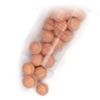 Антисептические шарики, для маникюрных ванн, с экстрактом папайи и зеленого чая уп. 100шт.