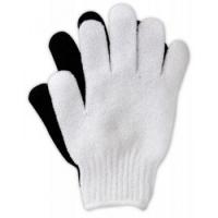 Перчатки массажные, черные