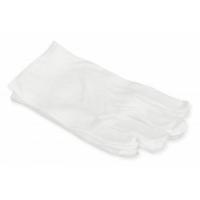 Перчатки массажные, белые