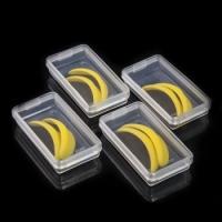 Желтые силиконовые бигуди S, M, L, XL