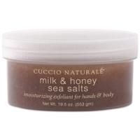 Морская соль (скраб молоко-мед) для СПА-ухода за кожей рук и тела 553 г.